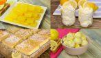 4 Delicious, quick and easy lemon dessert recipes!
