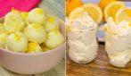 4 Dolcezze al limone golose, facili e veloci!
