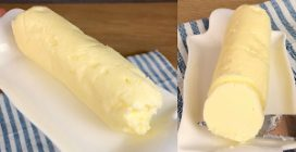 1 Ingredient homemade butter: a simple method to try!