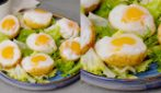 Beautiful fried boiled eggs: the original solution for a delicious dinner!