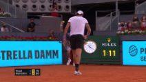 Sport - Tennis - Madrid, che colpo Berrettini: punto decisivo contro Ruud