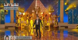 Amici20, Alessandro balla The greatest show
