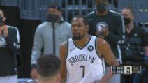 Denver-Brooklyn 119-125: Durant vince la sfida con Jokic