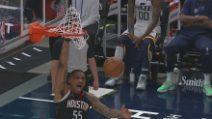 Utah-Houston 124-116: i Jazz vincono ancora