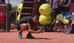 Tennis: Punto contestato, Paire perde la testa e fotografa il campo