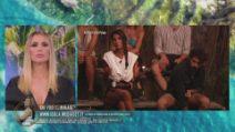 L'Isola dei Famosi - Lo scontro tra Andrea Cerioli e Francesca Lodo