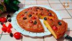 Torta rustica con pomodorini e olive: la ricetta semplice e saporita