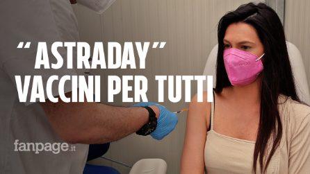 AstraDay, a Caserta vaccini Covid per tutti, dai 18 anni in su