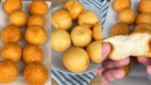 Parmesan pearls: a delicious appetizer with just 2 ingredients