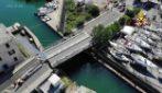 La Spezia, crollo del ponte: le immagini dall'alto
