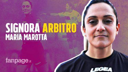 """Maria Marotta a Fanpage: """"Primo arbitro donna in Serie B, ora sogno di essere un esempio"""""""