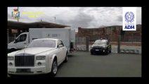 Sequestrata Rolls Royce Phantom VII con interni di coccodrillo