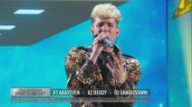 Amici 20, la finale: Aka7even canta Yellow
