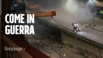 """Bombe a Ponticelli, periferia orientale di Napoli. """"Lo Stato faccia sentire la sua presenza"""""""