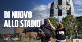 Coppa Italia: la gioia dei tifosi di nuovo allo stadio
