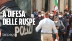 Lavori abusivi al parco dell'Ex Snia: proprietario organizza manifestazione in difesa delle ruspe
