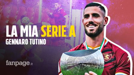 """Gennaro Tutino a Fanpage: """"Voglio restare alla Salernitana. La Serie A me la sono meritata"""""""
