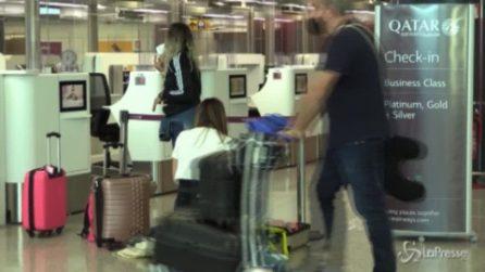 Fiumicino, l'aeroporto riprende vita dopo i mesi della pandemia