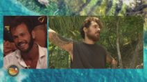 L'Isola dei Famosi - Matteo Diamante fa pace con Moser e Cerioli
