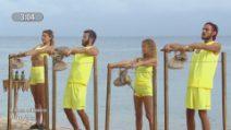 L'Isola dei Famosi - Angela terza aspirante finalista, Awed protesta