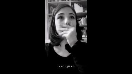 La reazione di Giorgia Soleri all'esibizione del fidanzato Damiano David all'Eurovision