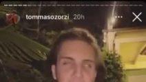 Tommaso Zorzi e Tommaso Stanzani a cena insieme