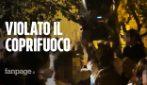A Napoli il coprifuoco è già sparito: feste in strada, locali aperti, assembramenti, zero mascherine
