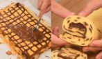 Rotolo bicolore al cioccolato: morbido e sfizioso!