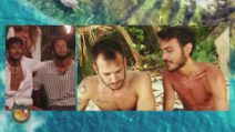 L'Isola dei Famosi 2021, l'amicizia di Awed e Matteo