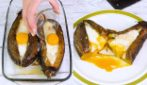 Stuffed eggplant: easy and quick to prepare!