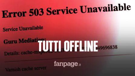 Error 503 e Guru Meditation: irraggiungibili Twitch, The Guardian e centinaia di siti
