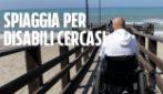 """Roma, l'appello di Enzo malato di Sla: """"Dateci una spiaggia per disabili"""""""
