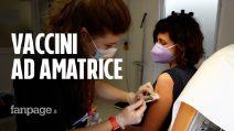 """I romani a caccia del vaccino monodose ad Amatrice: """"Sveglia all'alba e poi un'amatriciana"""""""