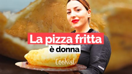 Pizza fritta, un'arte tutta al femminile