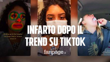 Una 20enne ha avuto un infarto dopo aver provato un trend su TikTok: ecco cos'è il dry scooping