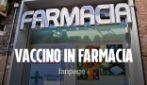Napoli, come funziona il vaccino in farmacia