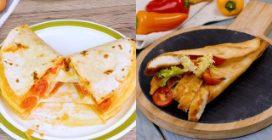 3 ways to enjoy your tortilla!