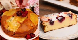 3 delicious recipes with cherries!