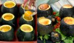 Round stuffed zucchini: the perfect recipe for a delicious dinner!