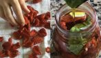 Pomodori secchi sott'olio: la ricetta per prepararli a casa