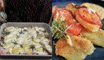 Patate al forno con squacquerone e pomodori: un contorno veloce e saporito