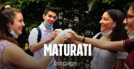 Maturità 2021, i primi diplomati di Milano divisi tra regole anti Covid e le domande su Ungaretti