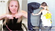 Ossa fragili come cristallo e continue fratture a causa di una rara malattia: la storia di Kristin