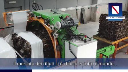 """Le ecoballe della Campania nello Stir di Caivano, De Luca: """"Libereremo la regione"""""""