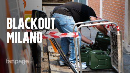 """Blackout a Milano, i commercianti: """"Senza corrente non ho potuto aprire il mio negozio"""""""