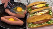 Wurstel egg: the original way to serve an appetizing dish!
