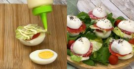 Egg buns: the tasty appetizer for surprise your guests!