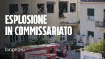 """Esplosione al commissariato di polizia di Castellammare di Stabia (Napoli): """"Sembrava un attentato"""""""