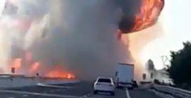 Grave incidente sulla A1, camion a fuoco: morte due persone