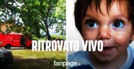 Ritrovato vivo Nicola Tanturli, il bambino di 2 anni scomparso tra i boschi del Mugello